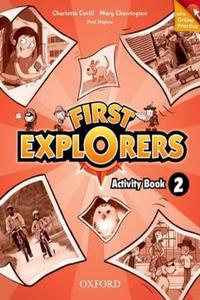 First Explorers 2 Activity Book + Online Practice