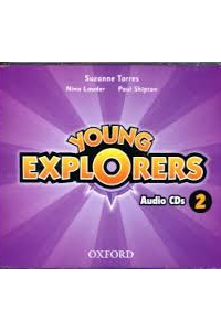 Young Explorers 2 Class Audio CDs