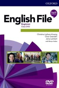 English File 4th edition Beginner DVD
