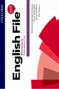 English File 4th edition Elementary Class Audio CDs (5)