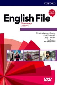 English File 4th edition Elementary DVD
