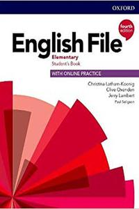 English File 4th edition Elementary Student's Book Pack