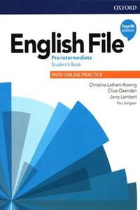 English File 4th edition Pre-Intermediate Student's Book Pack