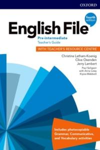 English File 4th edition Pre-Intermediate Teacher's Guide Pack