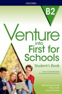 Venture into First for Schools B2 Student's Book Pack
