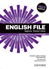 New English File 3ed.Beginner Teacher's Book with Test and Assessment CD-ROM