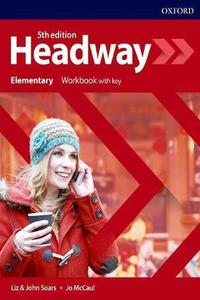 Headway 5th edition Elementary Workbook with Key