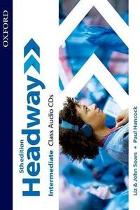 Headway 5th edition Intermediate Class CDs (4)