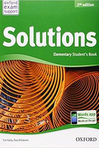 Solutions 2nd Elementary Student's Book