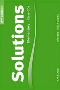 Solutions 2nd Elementary Audio CD