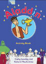 Fairy Tales Video Aladdin Activity Book