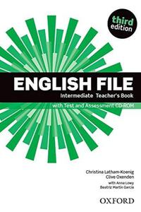 New English File 3ed.Intermediate Teacher's Book with Test and Assessment CD-ROM