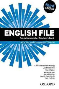New English File 3ed.Pre-Intermediate Teacher's Book with Test and Assessment CD-ROM