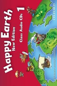 Happy Earth 1 New Edition Class Audio CD´s