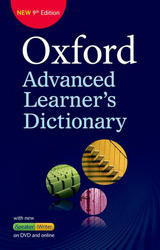 Oxford Advanced Learner´s Dictionary 9th Edition International Student's Edition Paperback + DVD