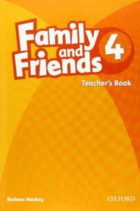 Family and Friends 4 Teacher´s Book