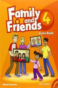 Family and Friends 4 Class Book and MultiROM