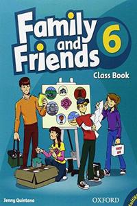 Family and Friends 6 Class Book and MultiROM