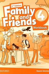 Family and Friends 2nd Edition 4 Workbook