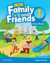 Family and Friends 2nd Edition 1 Class Book