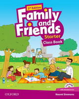 Family and Friends 2nd Edition Starter Class Book and MultiROM
