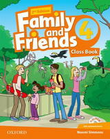 Family and Friends 2nd Edition 4 Class Book and MultiROM