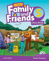 Family and Friends 2nd Edition 5 Class Book and MultiROM