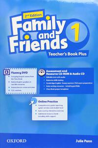 Family and Friends 2nd Edition 1 Teachers Book Plus