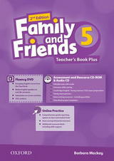 Family and Friends 2nd Edition 5 Teachers Book Plus