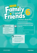 Family and Friends 2nd Edition 6 Teachers Book Plus
