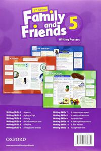 Family and Friends 2nd Edition 5 Writing Posters