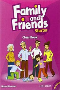Family and Friends Starter Class Book and MultiROM
