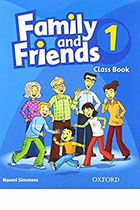 Family and Friends 1 Class Book 2019