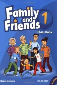 Family and Friends 1 Class Book and MultiROM