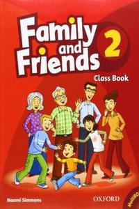 Family and Friends 2 Class Book and MultiROM