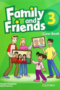 Family and Friends 3 Class Book 2019