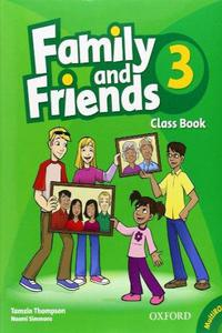 Family and Friends 3 Class Book and MultiROM