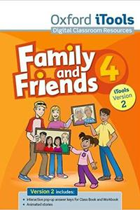 Family and Friends 4 iTools CD-ROM 2012 Edition