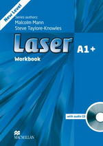 Laser new A1+ Workbook without Answer Key with CD
