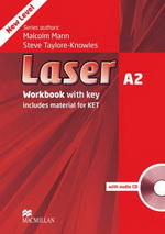 Laser new A2 Workbook with Answer Key & CD