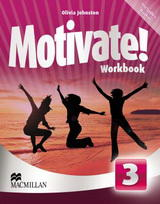 Motivate! 3 Workbook with Audio CD