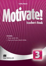 Motivate! 3 Teacher's Book with Audio CD & Test Audio CD