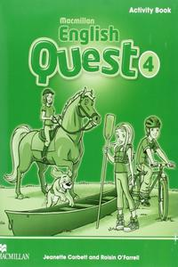 English Quest 4 WB