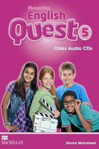 English Quest 5 CD