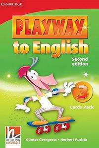 Playway to English 2ed. 3 Flashcards