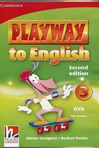 Playway to English 2ed. 3 DVD