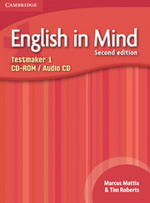 English in Mind 1 2nd Edition Testmaker Audio CD / CD-ROM