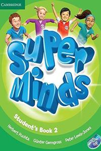 Super Minds 2 Student's Book + DVD-Rom
