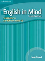 English in Mind 4 2nd Edition Testmaker Audio CD / CD-ROM