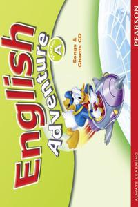English Adventures A Songs CD